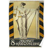 'Zeichnet 2' Vintage Poster Poster