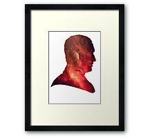 Ninth Doctor Galaxy Framed Print