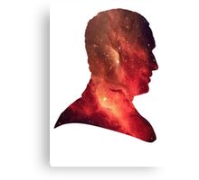 Ninth Doctor Galaxy Canvas Print