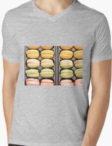 "Macarons by ""Provence Provence"" Mens V-Neck T-Shirt"