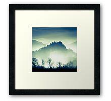 Castle Crag, Borrowdale Framed Print