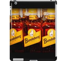 Bottles all lined up ready for sale iPad Case/Skin
