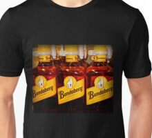 Bottles all lined up ready for sale Unisex T-Shirt
