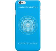 Explorers Journal iPhone Case/Skin