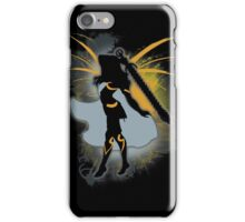 Super Smash Bros. Black Female Corrin Silhouette iPhone Case/Skin