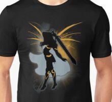 Super Smash Bros. Black Female Corrin Silhouette Unisex T-Shirt