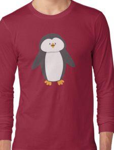 Cute little suited penguin Long Sleeve T-Shirt