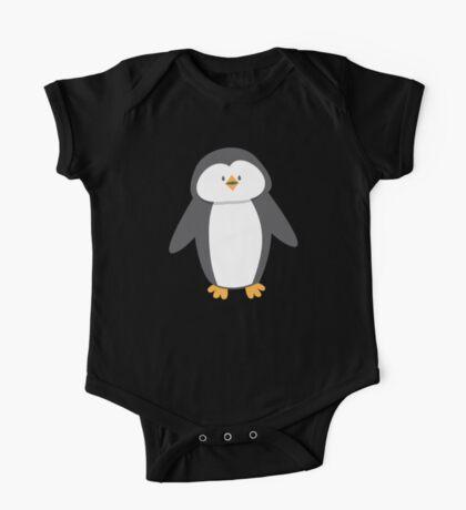 Cute little suited penguin One Piece - Short Sleeve