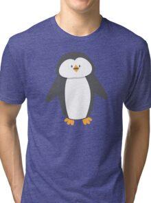 Cute little suited penguin Tri-blend T-Shirt