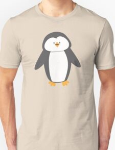Cute little suited penguin Unisex T-Shirt