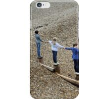 Bonding on the Beach. iPhone Case/Skin