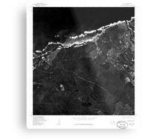 USGS TOPO Map Hawaii HI Paia 349648 1977 24000 Metal Print