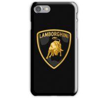 Lamborghini Bull Logo iPhone Case/Skin
