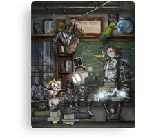 The Lab Canvas Print