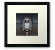 The Column Framed Print