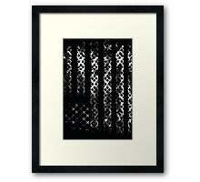 MotoX Flag Framed Print