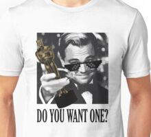 DiCaprio & his first Oscar Unisex T-Shirt