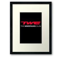 The Wrestling Clan Framed Print