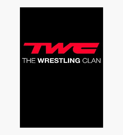 The Wrestling Clan Photographic Print