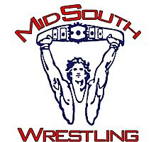 Mid-South Championship Wrestling Photographic Print
