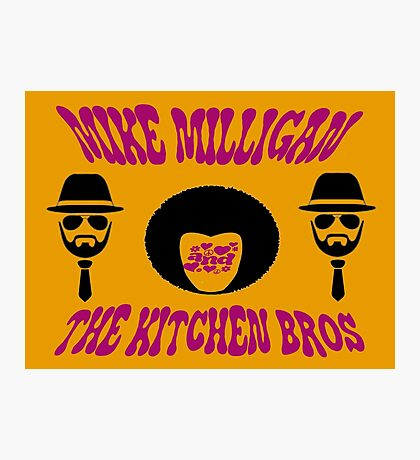 Mike Milligan & The Kitchen Brothers Photographic Print