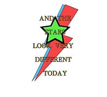 David Bowie Stars Major Tom Memorial by akl85ky