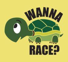 Wanna Race? One Piece - Short Sleeve