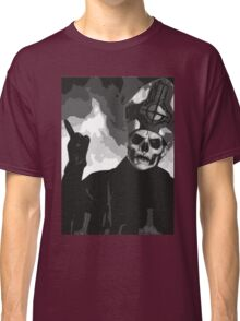 Papa Emeritus II - Black & White Classic T-Shirt