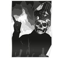 Papa Emeritus II - Black & White Poster