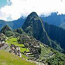 Machu Picchu Ruins by Maggie Hegarty