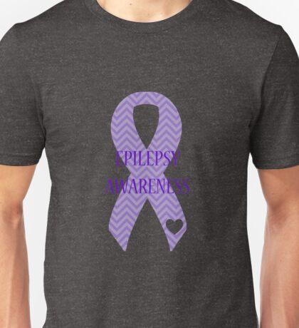 Epilepsy - Chevron Unisex T-Shirt