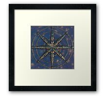 Steering Wheel Framed Print