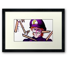 IT WAHS ME DIO Framed Print
