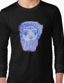 Floating Baby Face Long Sleeve T-Shirt