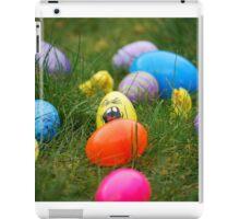 Easter egg hunt iPad Case/Skin