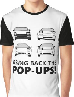 Bring back the pop-ups! Graphic T-Shirt