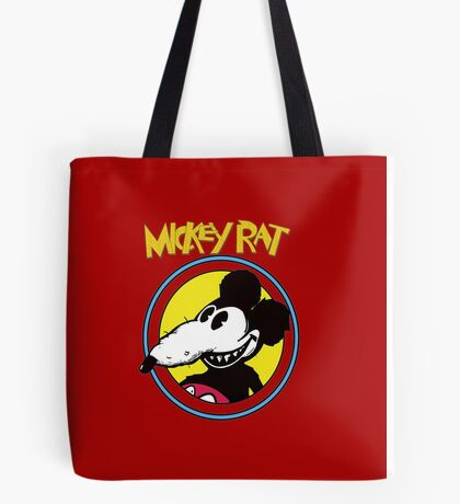Dismaland Mickey Rat Tote Bag