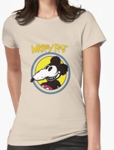 Dismaland Mickey Rat Womens Fitted T-Shirt