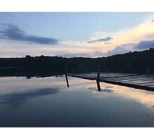 Water filled reflection  Photographic Print