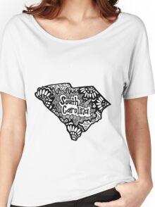 South Carolina Zentangle Women's Relaxed Fit T-Shirt