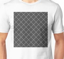 Dean's Silver Diamonds on Black Unisex T-Shirt