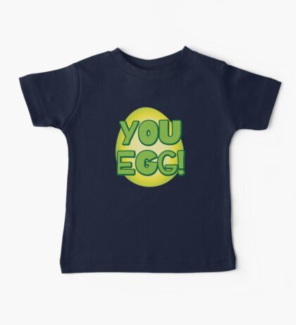 You EGG! with cracked egg NEW ZEALAND KIWI funny design Baby Tee