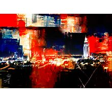 abstracted Dubai Photographic Print