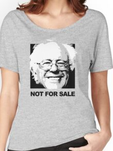 Bernie is Not for Sale Women's Relaxed Fit T-Shirt
