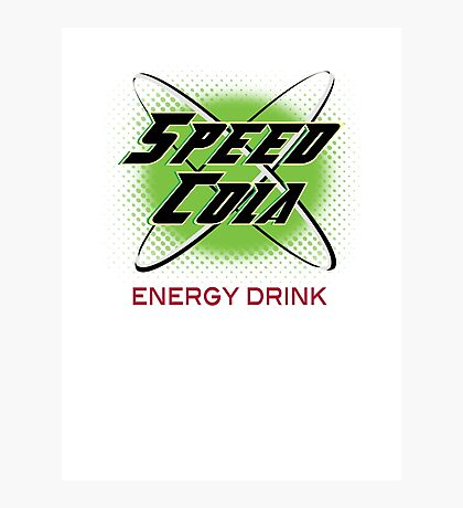 Speed Cola Photographic Print