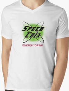 Speed Cola Mens V-Neck T-Shirt