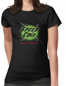 Speed Cola Womens Fitted T-Shirt