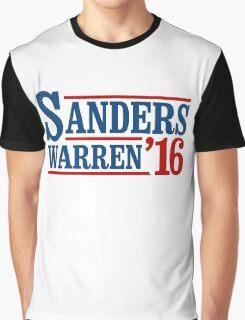 Sanders / Warren 2016 Graphic T-Shirt