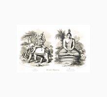 Oriental Divinities Cotama Budha (Gautama Buddha)  & Indra Unisex T-Shirt
