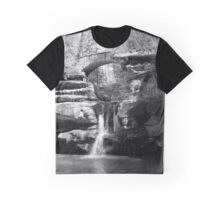Stone Bridge over the Falls Graphic T-Shirt